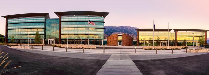 doTERRA's global corporate headquarters in Pleasant Grove, Utah