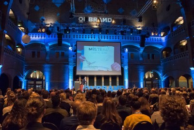 OnBrand '17, a one day branding conference in Amsterdam, will gather 2000 marketing professionals from 990+ brands to share strategies, best practices and valuable insights. (PRNewsfoto/OnBrand)