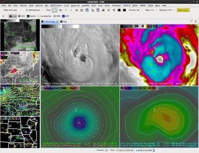 AWIPS is a complex network of systems that ingests and integrates meteorological, hydrological, satellite and radar data allowing forecasters to make weather predictions that can ultimately save lives.