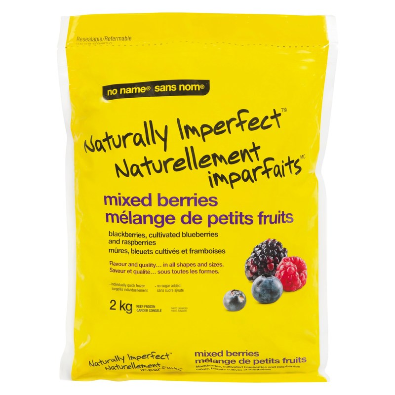 no name® Naturally Imperfect™ frozen mixed berries (CNW Group/Loblaw Companies Limited)