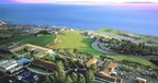 The stunning view of the Pacific Ocean from Marymount California University in Rancho Palos Verdes, CA.
