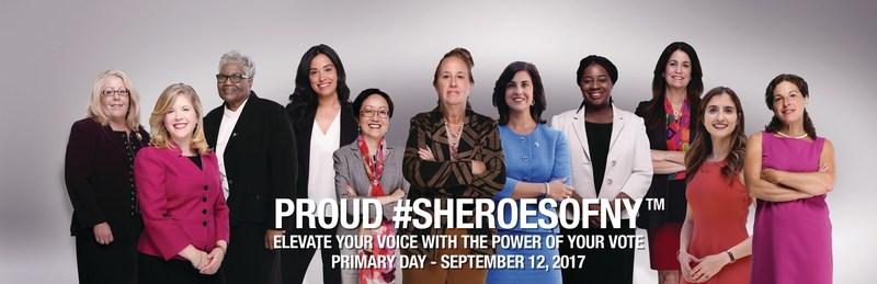 Proud #SHEROESOFNY