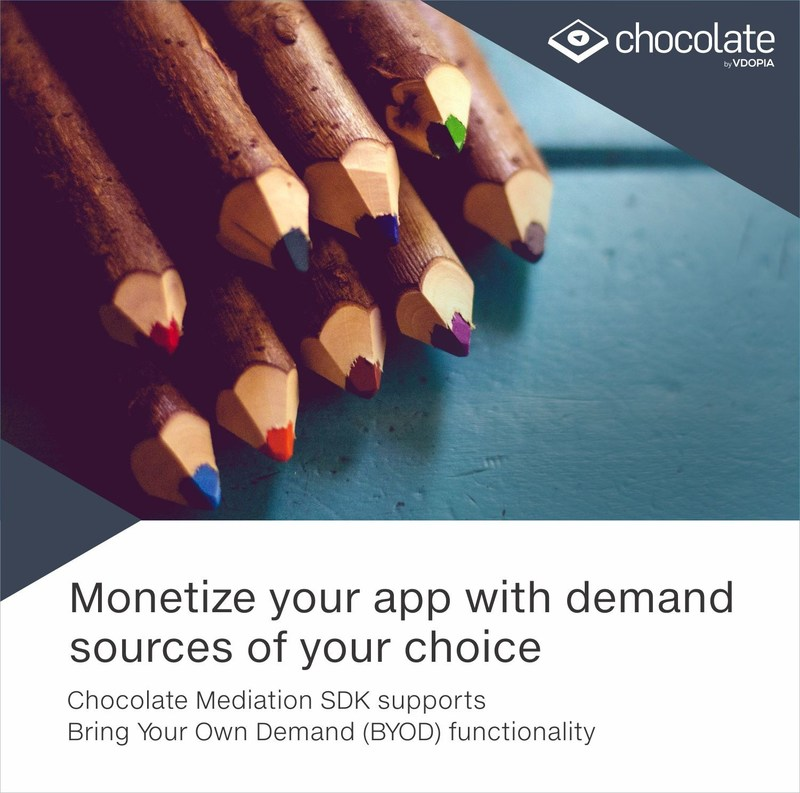 Chocolate SSP is an end-to-end mobile video ad mediation platform