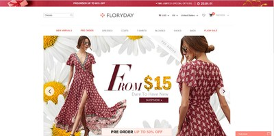 New Fashion E-Commerce leader, Floryday Reports the Continued Success of its Global Market Expansion