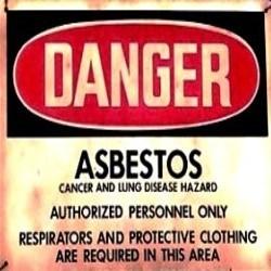Asbestos Warning System