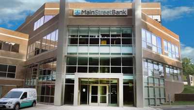 MainStreet Bank Headquarters 10089 Fairfax Blvd Fairfax, Virginia  22030 (PRNewsfoto/MainStreet Bancshares, Inc.)