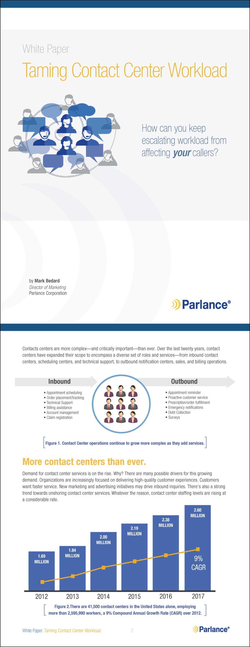Taming Contact Center Workload White Paper
