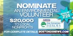 Final Days to Nominate Volunteers for Boston's Cox Conserves Heroes Awards Program