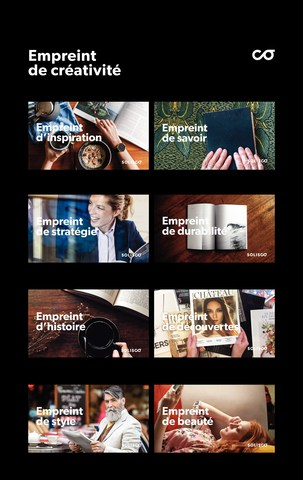 Solisco campagne image de marque (Groupe CNW/Imprimerie Solisco)