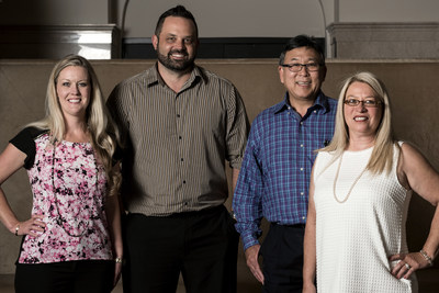 Beyond sales professionals (from left to right): Crystal Patterson, Eric Thomas, Ray Kim, and Teri Rich