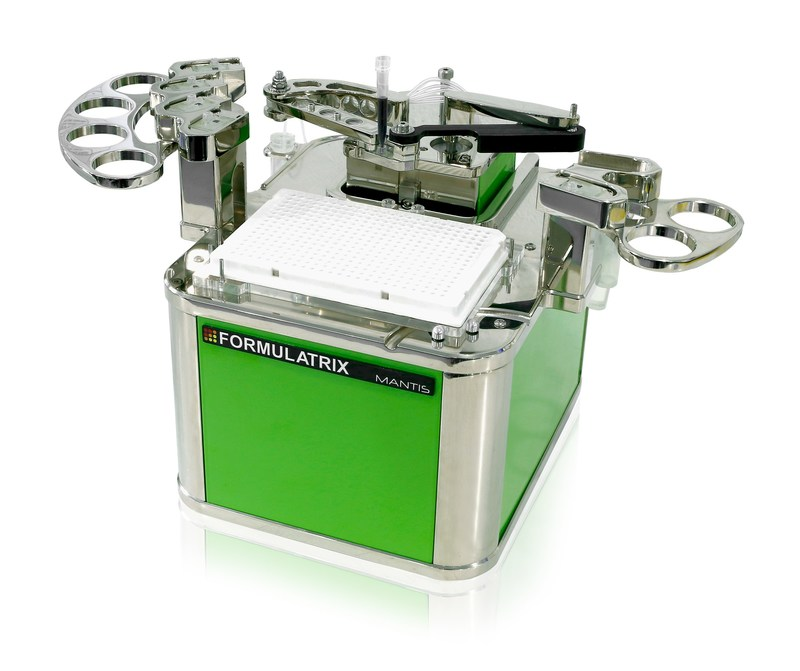 The FORMULATRIX® MANTIS® Liquid Handler