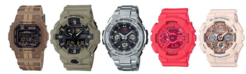 G-SHOCK's Top Watch Selections For Summer