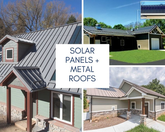 The Metal Roofing Alliance (www.MetalRoofing.com) has a free online tool that can help homeowners see how their home would look with a new metal roof.