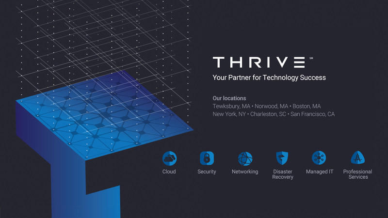 Thrive Recognized by CRN and MSPmentor as a Top IT Service Provider in 2017 Rankings
