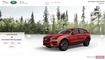 Insignia Group Launches Jaguar Land Rover North America Configurator