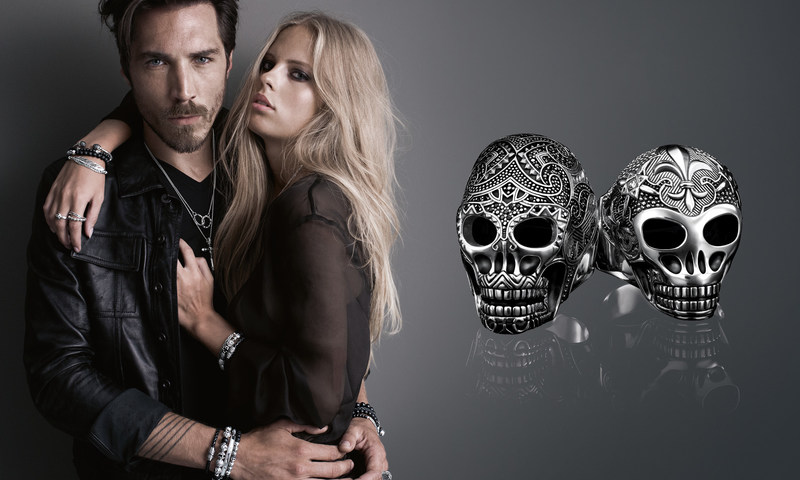 Rebel at heart jewellery and watches for men and women: In its tenth anniversary year, THOMAS SABO reinterprets the classic icons of the collection, from the skull to the cross designs. (PRNewsfoto/THOMAS SABO GmbH & Co. KG)