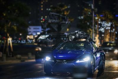 El Lexus LC 500 entra en escena en la película 'Black Panther' de Marvel Studios