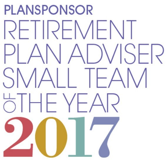 2017 PLANSPONSOR Retirement Plan Adviser of the Year in the Small Team category