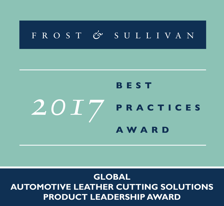 Frost & Sullivan recognizes Lectra with the 2017 Global Product Leadership Award. (PRNewsfoto/Frost & Sullivan)
