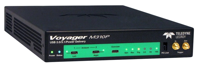Teledyne LeCroy Upgrades Voyager USB Platform to Addresses 100% of Required USB Power Delivery and USB Type-C™ Compliance Tests