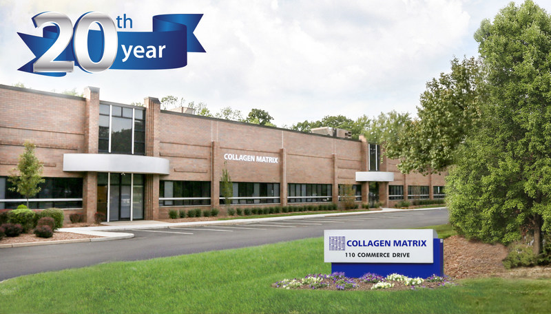 Collagen Matrix Celebrates 20 Years of Science, Technology and Innovation
