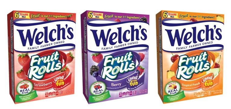 New Welch's® Fruit Rolls Will Have Snacking Lovers Everywhere Unrolling the Fun!