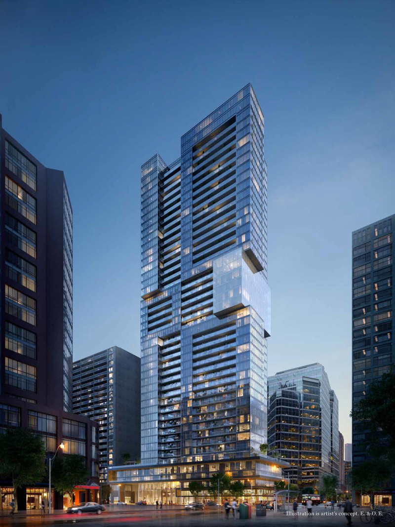 The Livmore, GWL Realty Advisors' flagship purpose built rental building at Gerrard and Bay street in Toronto, was launched today at a special unveiling ceremony. The Livmore, currently under construction,  will be the tallest purpose built rental building in Canada with first occupancy scheduled for late spring 2018. (CNW Group/GWL Realty Advisors)
