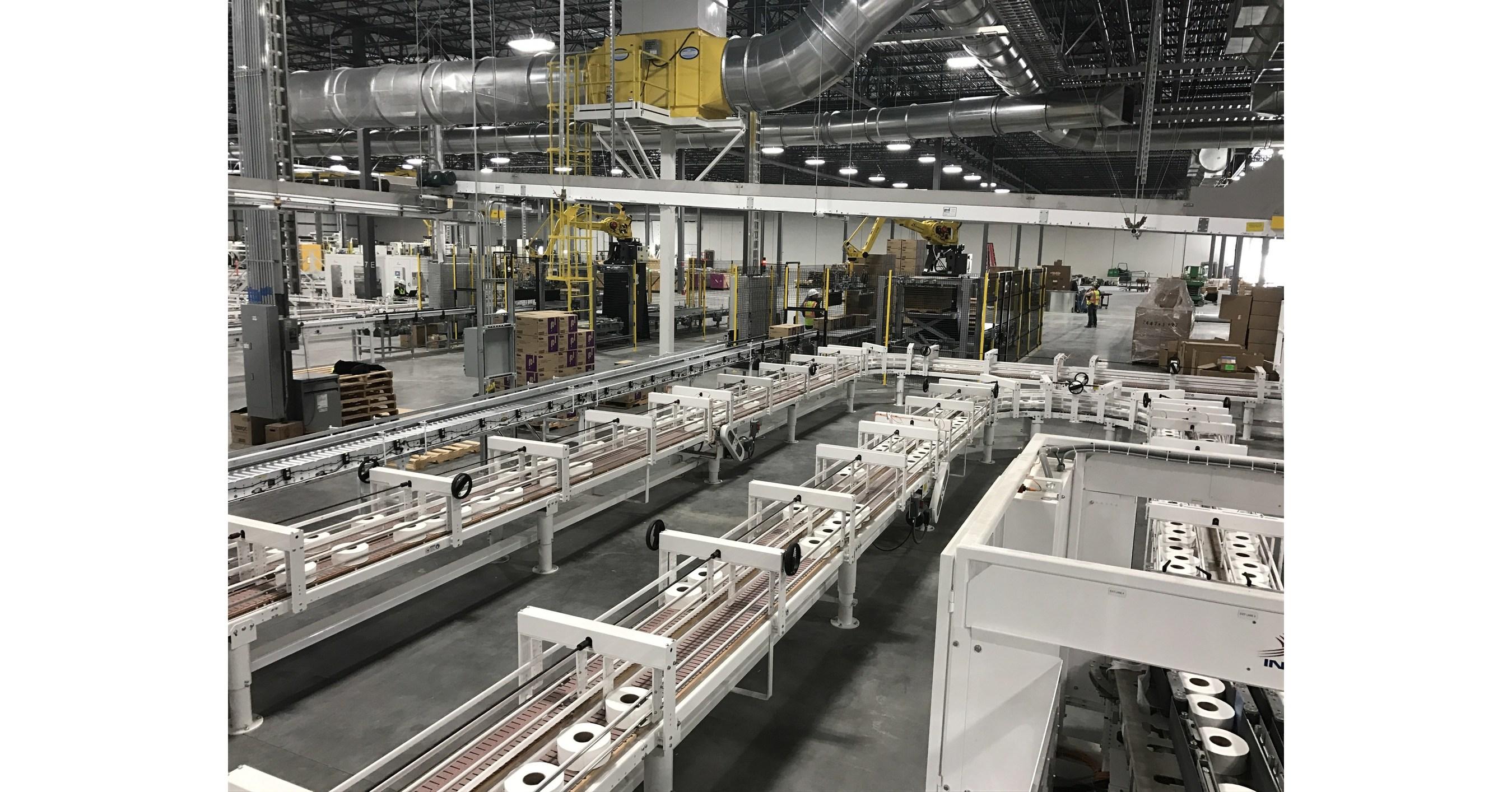 cnw cascades inaugure une nouvelle usine de conversion de papier tissu la fine pointe de la. Black Bedroom Furniture Sets. Home Design Ideas