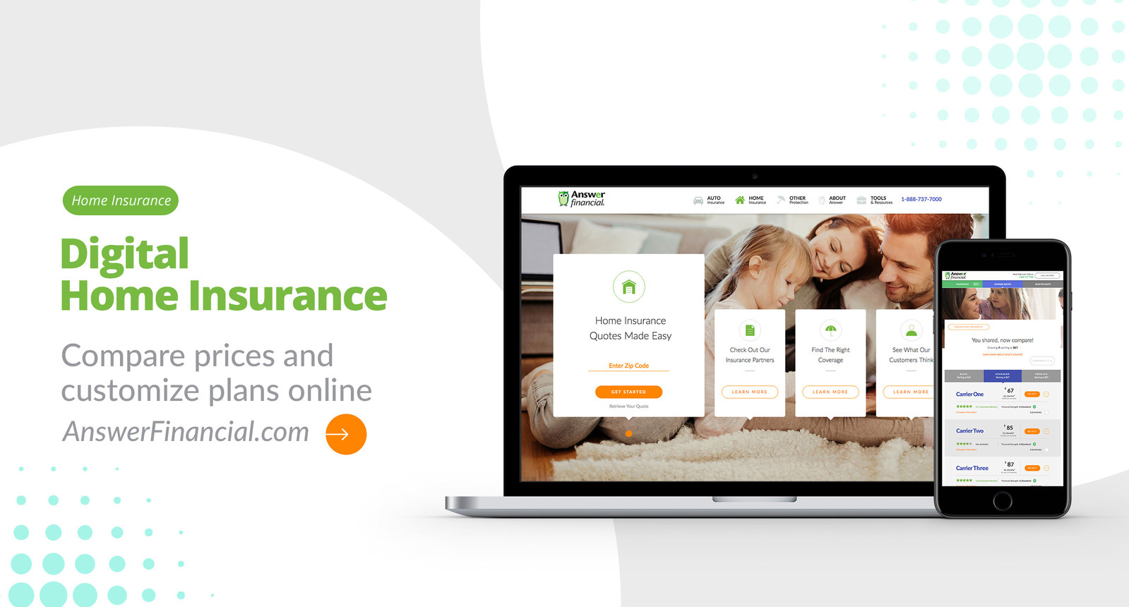 Answer Financial Launches Digital Homeowners Insurance