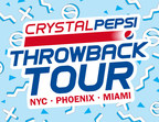 Crystal Pepsi Throwback Tour Brings Music, Baseball And Iconic Clear Cola To Fans Across The U.S.