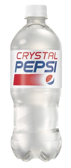 Crystal Pepsi will be available for a limited time starting August 14th.