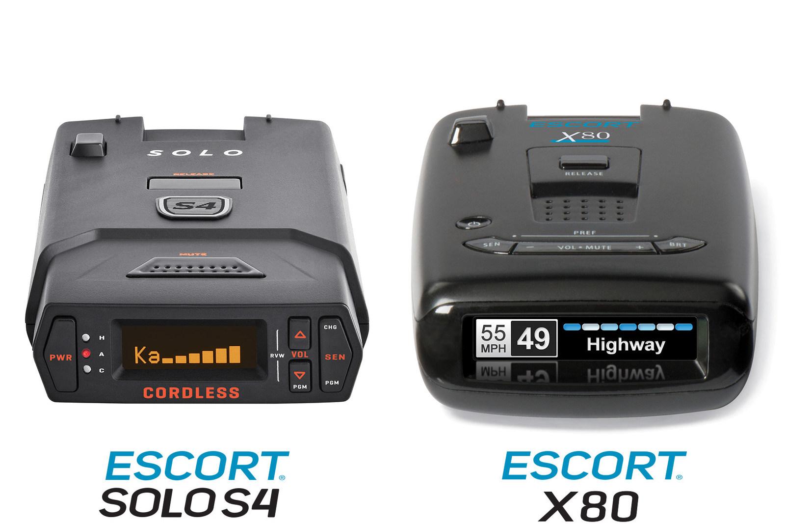 Escort solo s4 cordless radar detector