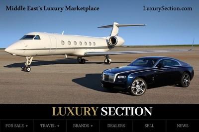 The World's gateway to Middle East luxury marketplace. (PRNewsfoto/LuxurySection.com)