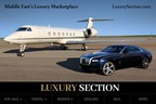 LuxurySection.com Leads The World Of Luxury Marketplaces in The Middle East