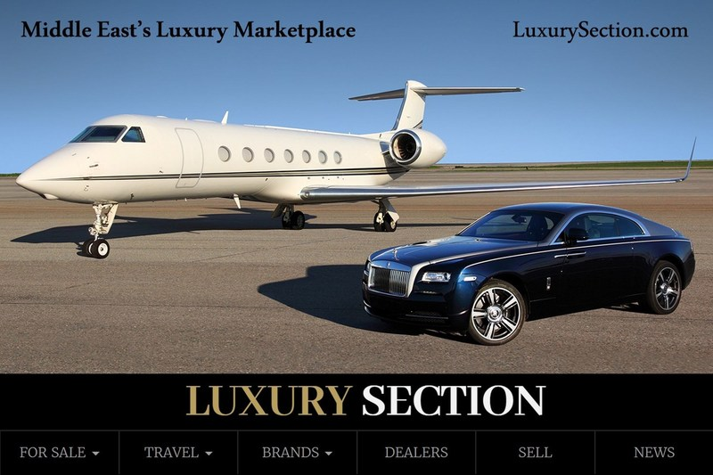 The World's gateway to Middle East luxury marketplace. (PRNewsfoto/LuxurySection.com)