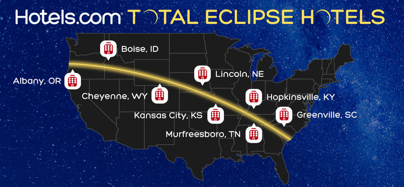 Hotels.com searched the universe for the best total solar eclipse hotel deals