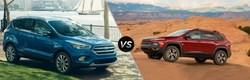 2017 Ford Escape, 2017 Jeep Cherokee and 2017 Mazda CX-5 Comparisons