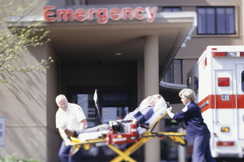 Patients wait 7 minutes for an ambulance on average, but much longer in rural areas.