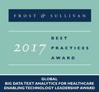 Frost & Sullivan Honors Linguamatics for Developing a Best-in-Class NLP-based Data Mining Platform for the Healthcare Industry