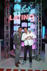 Romeo Santos se encuentra con su figura de cera 'Imitadora' en Madame Tussauds New York en la inauguración de la experiencia Sabor Latino