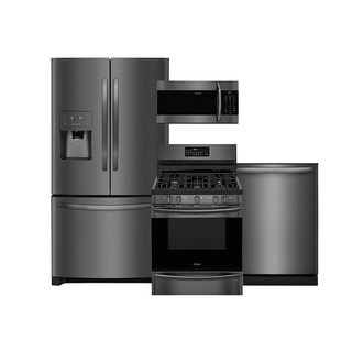 The New Frigidaire Gallery® Smudge-Proof™ Black Stainless Steel Collection Provides Time-Saving Benefits And Sophisticated Style For Any Kitchen