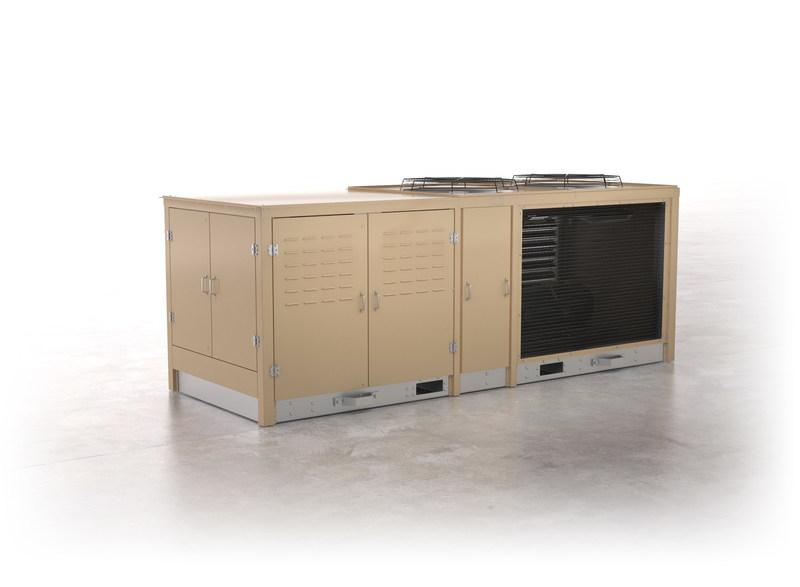 Hillphoenix-AdaptaPak-Refrigeration-System
