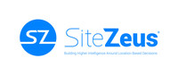 SiteZeus® is the leading SaaS cloud-based Location Intelligence technology platform available, building higher intelligence around location based decisions by pioneering the use of Machine Learning and Artificial Intelligence. Combining your expertise and the power of big data, SiteZeus allows individuals and organizations to mitigate risk, discover efficiencies, and interpret actionable insight from technology that analyzes more data points than humanly possible. (PRNewsfoto/SiteZeus)