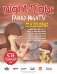 Ovation Brands® And Furr's Fresh Buffet® Launch New Family Night With Night Night Book Series, Starting July 27