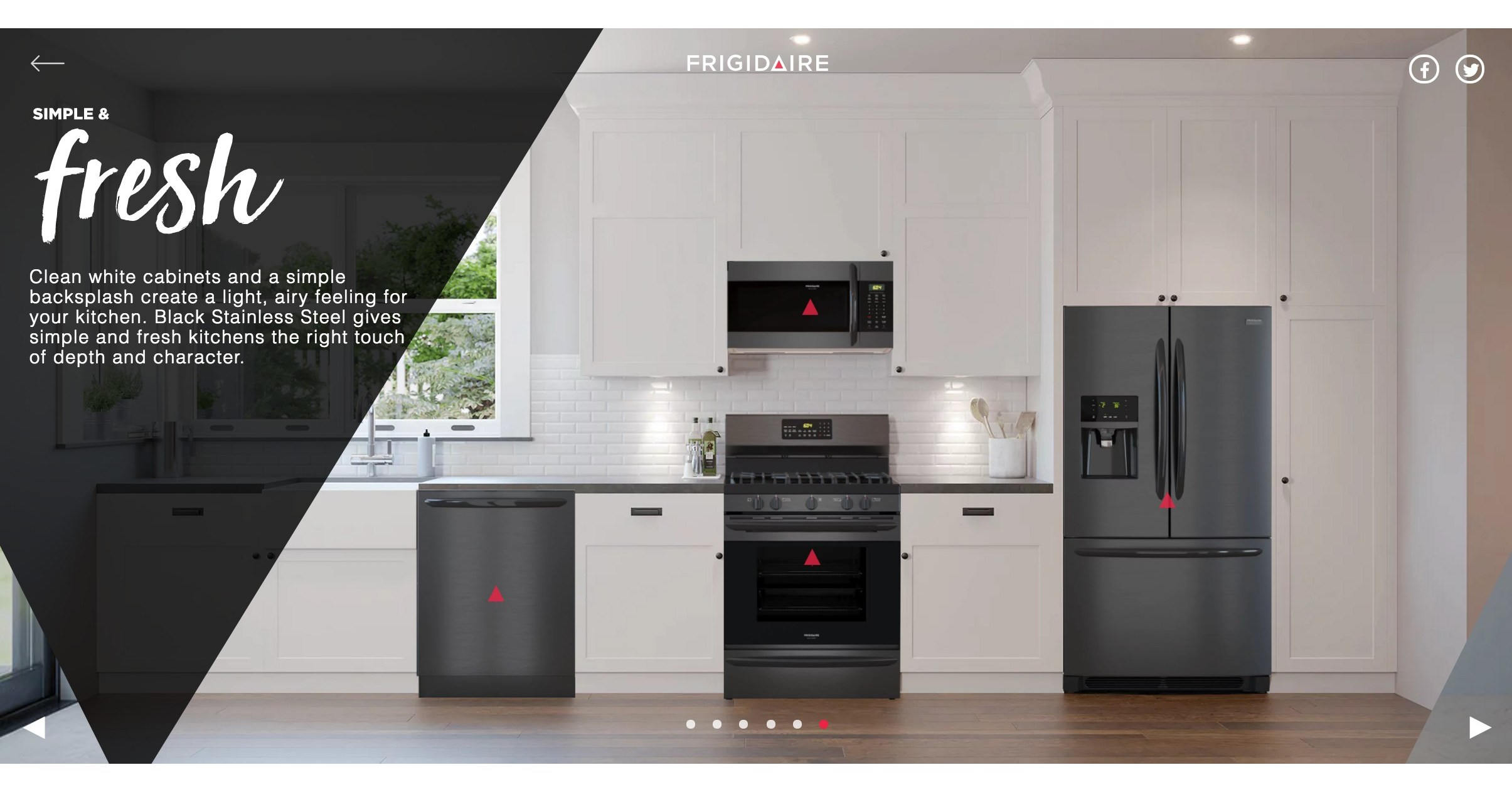 The New Frigidaire Gallery 174 Smudge Proof Black Stainless
