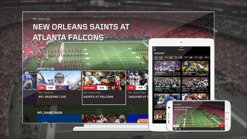 DAZN is a new revolutionary live streaming service that allows Canadian fans to watch all NFL games live and on-demand when they want, where they want. (CNW Group/DAZN)