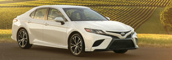 The 2018 Toyota Camry will arrive at Toyota Vacaville soon.