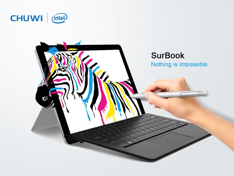 Chuwi SurBook - Nothing is impossible (PRNewsfoto/Chuwi)