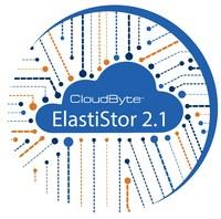 CloudByte ElastiStor 2.1 Logo (PRNewsfoto/CloudByte Inc)