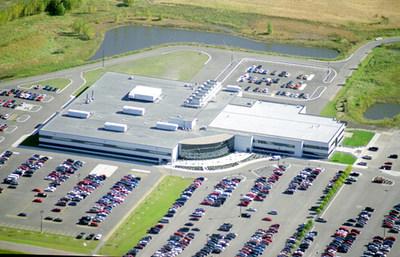 L'installation de Hutchinson, au Minnesota, ajoutera 237 000 pieds carrés d'espace de fabrication et de bureaux pour soutenir la division de la tuyauterie PEX d'Uponor. (Groupe CNW/Uponor Ltd.)